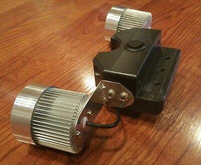 Cruzin Cooler Upgrades LED Headlight Kit With Stabilizer-Video Inside Ccu Kit
