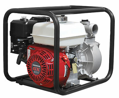3 Gas Centrifugal Water Pump 6.5 Hp Honda - 3 Year Motor 1 Year Pump Warranty