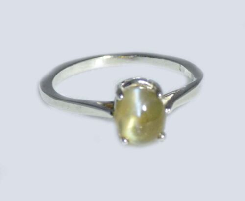 Chrysoberyl Cats Eye Ring Antique 19thC Ancient Rome Evil Eye Protection Amulet