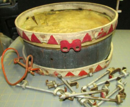 WW2 1938  GERMAN SIDE DRUM + BERLIN 1938 MAKER  (YOUTH)  GOOD ORIGINAL