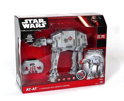 AT-AT CON RADIOCOMANDO STAR WARS Guerre Stellari Giocattoli Robot GPZ13435