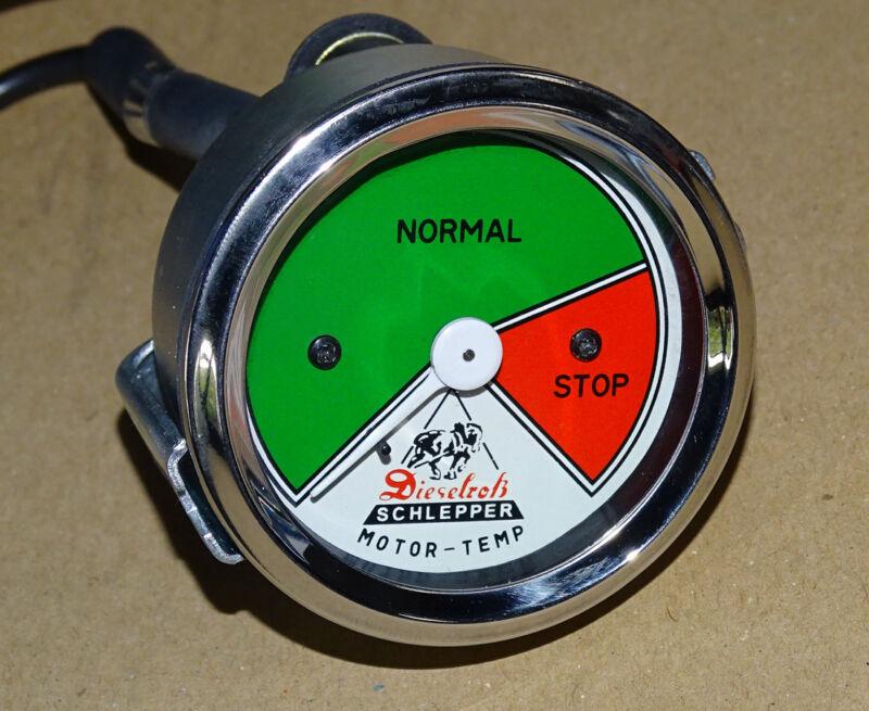 Fernthermometer mit Fendt-Dieselroß-logo Wassergekühlt F15 F25 F28 F40 Traktor  Foto 1