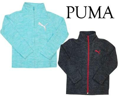 - NEW PUMA YOUTH KIDS FULL ZIP FLEECE JACKET BOYS GIRLS PUMA FLEECE JACKET VARIETY