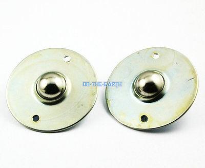 2 Pieces Flange Mount 1 Ball Transfer Bearing Unit Conveyor Roller Wheel