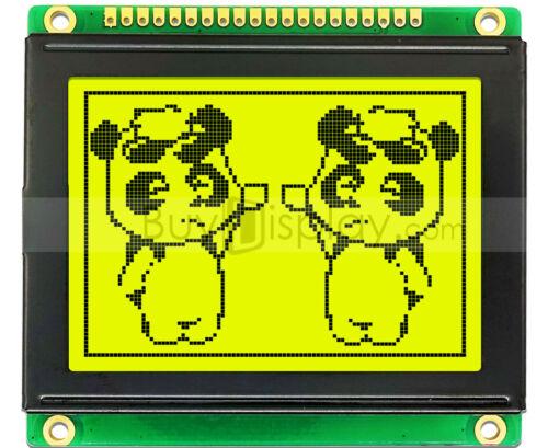 "2.6""LCD 12864 128x64 ST7920 SPI Graphic Module Display w/Datasheet,Tutorial"