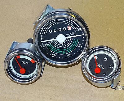 Temperaturanzeige Fernthermometer Ø52mm für Traktor John Deere LANZ 300 500 700