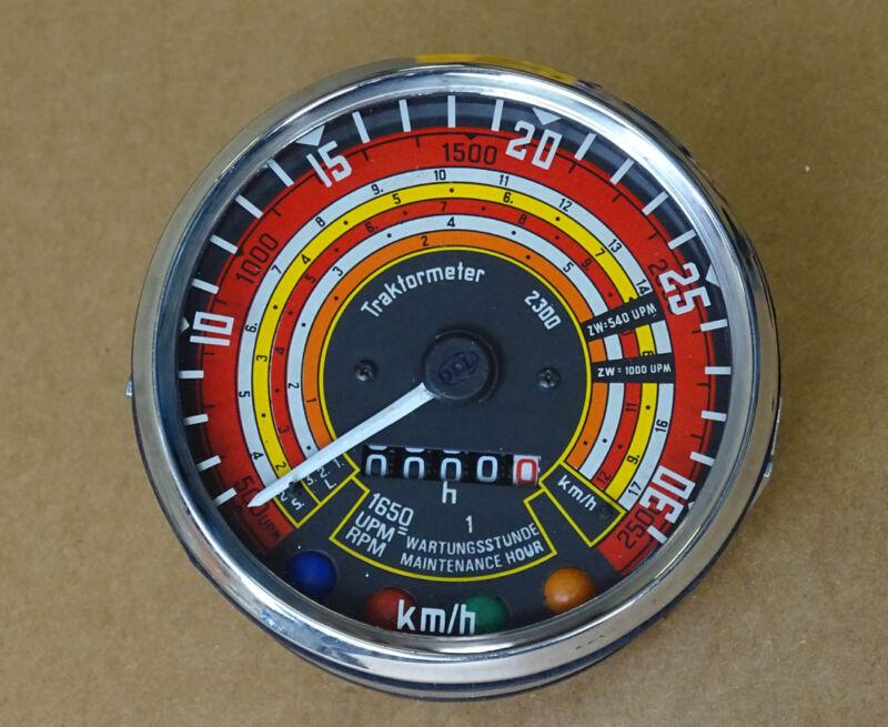 Traktometer ø 115 mm für Deutz 05 - 06 Serie Traktor rechtsdrehend Tacho KD3 Foto 1
