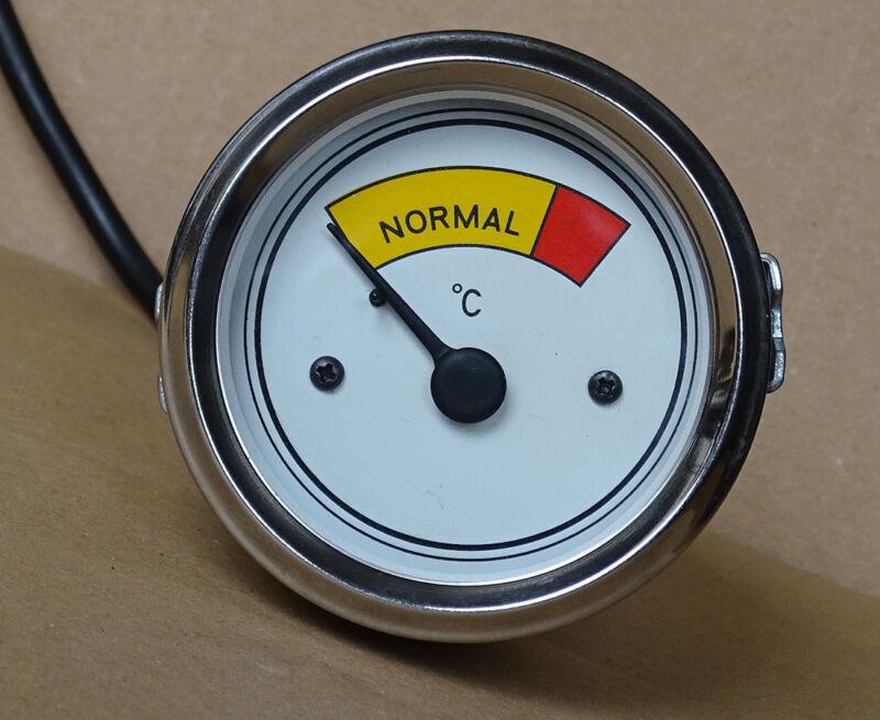 Fernthermometer Ø 52 mit M10x1 Anschluß für Eicher ED16 Traktor 17 Foto 1