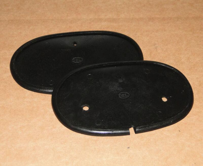 2x Gummi zur ovale Rückleuchten für G-Serie G25 G30 G35 G40 G45 G50 Traktor Foto 1