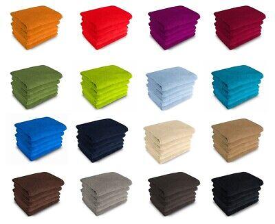 500g/m² Gästetücher Handtücher Duschtücher Badetücher 100% Baumwolle Frottee
