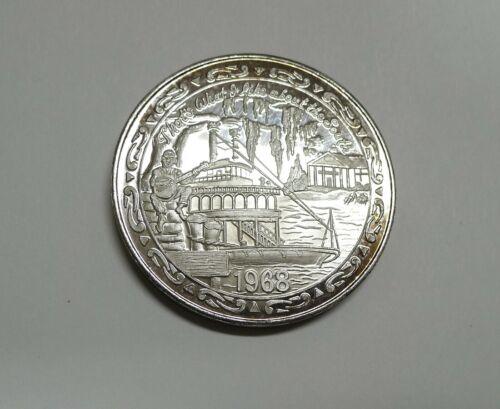 1 Troy Oz. .999 Fine Silver! Iris Mardi Gras Doubloon! Beautiful Details!