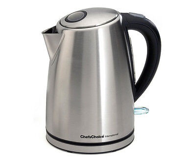 Chef's Choice International™ Cordless Electric Kettle Model 681 Factory RFB