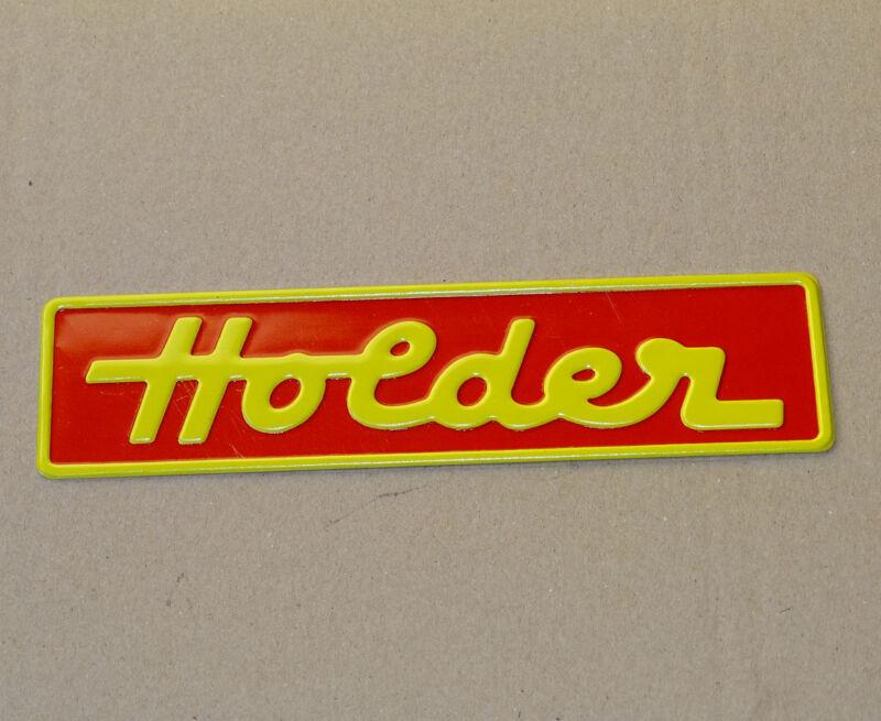 Holder Emblem Alu-Schild für B10 B12 A10 A12 E11 E12 Einachser Traktor G/R Foto 1