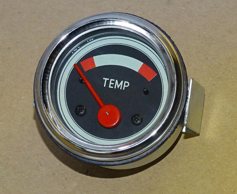 Fernthermometer Ø 52mm elektrisch 12V wassergekühlte Motoren - Traktor ( JDL Foto 1