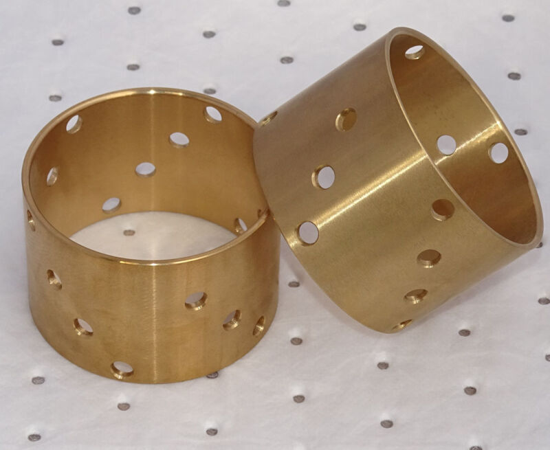 2 Schwimmbüchsen Backen - Kupplung bronze Buchse Lanz Bulldog D2806 D3606  Foto 1