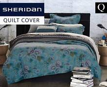 New Genuine Sheridan Cheyenne Queen Bed Tailored Quilt Cover Set Bankstown Bankstown Area Preview