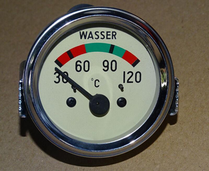 Fernthermometer Ø 60 mm für Hanomag Perfekt Granit Traktor elektrisch 12 Volt 3 Foto 1