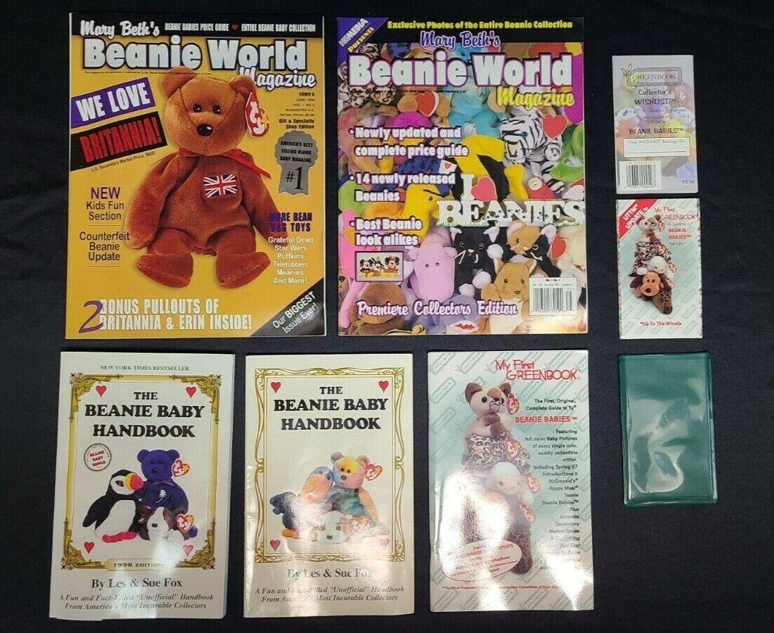 beanie baby book lot 3 handbook 2