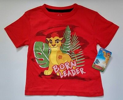 Disney Boy Girl Toddler The Lion Guard King Born Leader Red Shirt Movie Clothes - Toddler The Movie