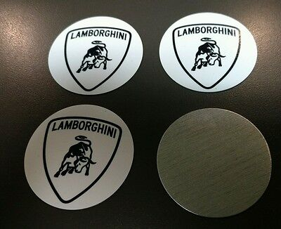 Lamborghini Wheel Centers ... Diablo Murcielago Gallardo Aventador
