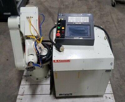 Kawasaki Js005 Hq Articulating Robot Manipulator 6-joint W A50f-c Ad Controller