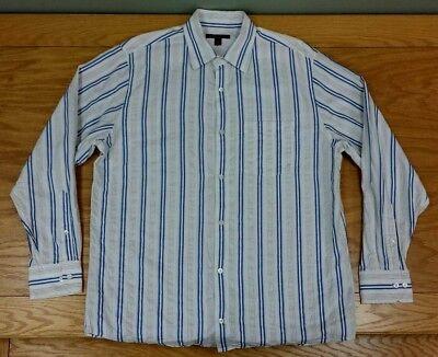 BANANA REPUBLIC Cotton Button Up Business Casual Dress Shirt Size M Men's Medium Cotton Business Men Casual Shirt