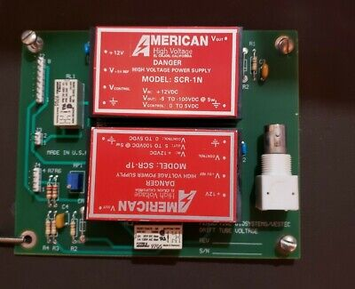 Perseptive Biosystems Vestec Drift Tube Voltage Board With Scr-1n Supply Bnc