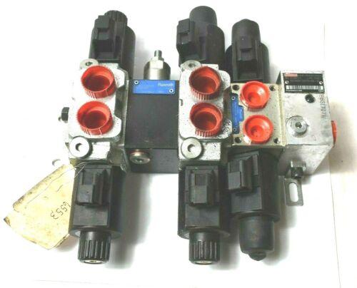 Rexroth Hydraulic Control Valve ED Assembly 00078 HEIL R933000030 R978056904