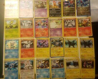 Pokemon Black And White Era Holo Card Lot DAMAGED reshiram zekrom infernape etc