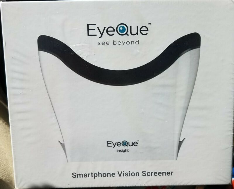 EyeQue Insight Home Smartphone Vision Test $99.00   - NEW IN SEALED BOX