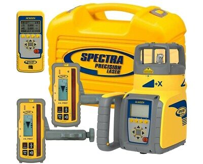 Spectra Precision Self-leveling Gl622 Dual Grade Laser With 2 X Hl750 Receiver