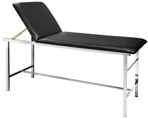 AdirMed Adjustable Steel Leather Exam Table with Paper Dispenser