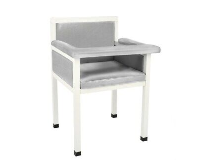 Adirmed Gray 21.5 In Wide Seat Faux Leather Phlebotomy Blood Draw Chair