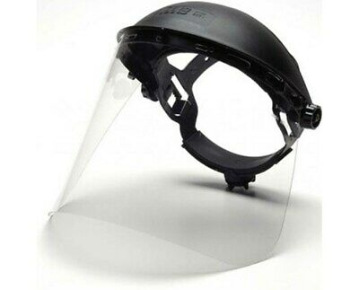 Pyramex Hgbr Full Ratchet Head Gear With S1010 Face Shield.