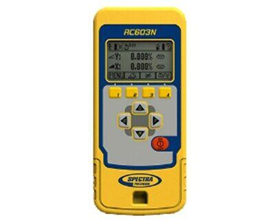 Spectra Precision Remote Control For Ul633n Grade Laser