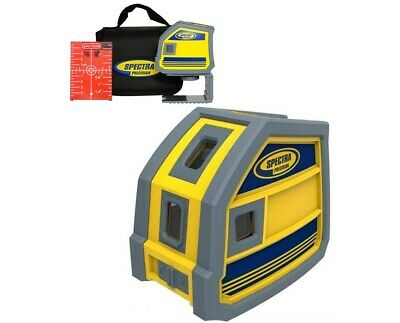 Spectra Precision Lp51 5-point Red Beam Laser Level