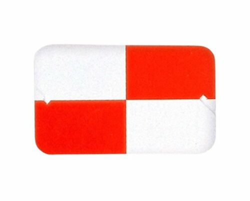 AdirPro Red and White Plastic Target