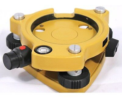 Adirpro Laser Yellow Tribrach For Total Stations Gps Topcon Sokkia Leica
