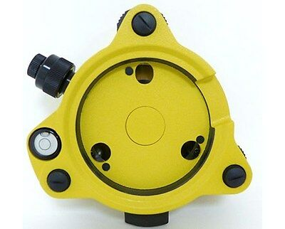 Adirpro Twist Focus Yellow Tribrach With Optical Plummet 705-02