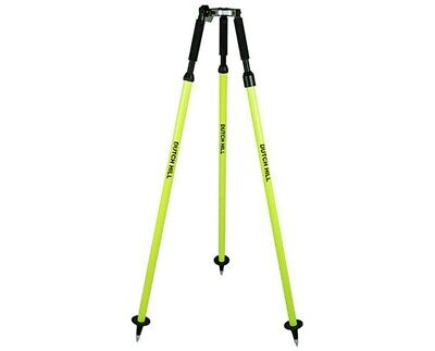Dutch Hill Dh04-002 Aluminum Surveying Yellow Finish 71.5 In.prism Pole Tripod