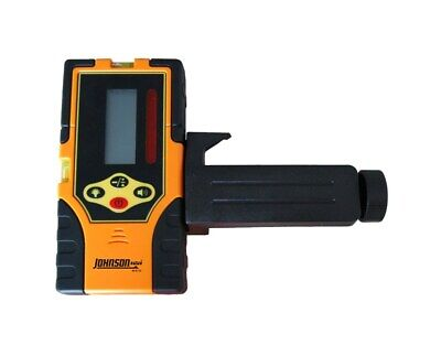 Johnson Level Two-sided Backlit Lcd Display Red Beam Rotary Laser Detector