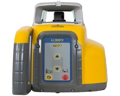 Spectra Ll300s Rotary Laser Level Self Leveling Hl450 Receiver 2600 Range
