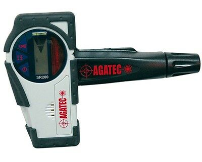 Agatec Sr200 Rotary Laser Level Detector W Clamp 775115