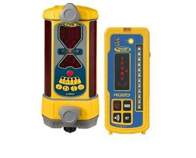 Spectra Precision Lr30 Wireless Machine Control Laser Receiver W Remote Display