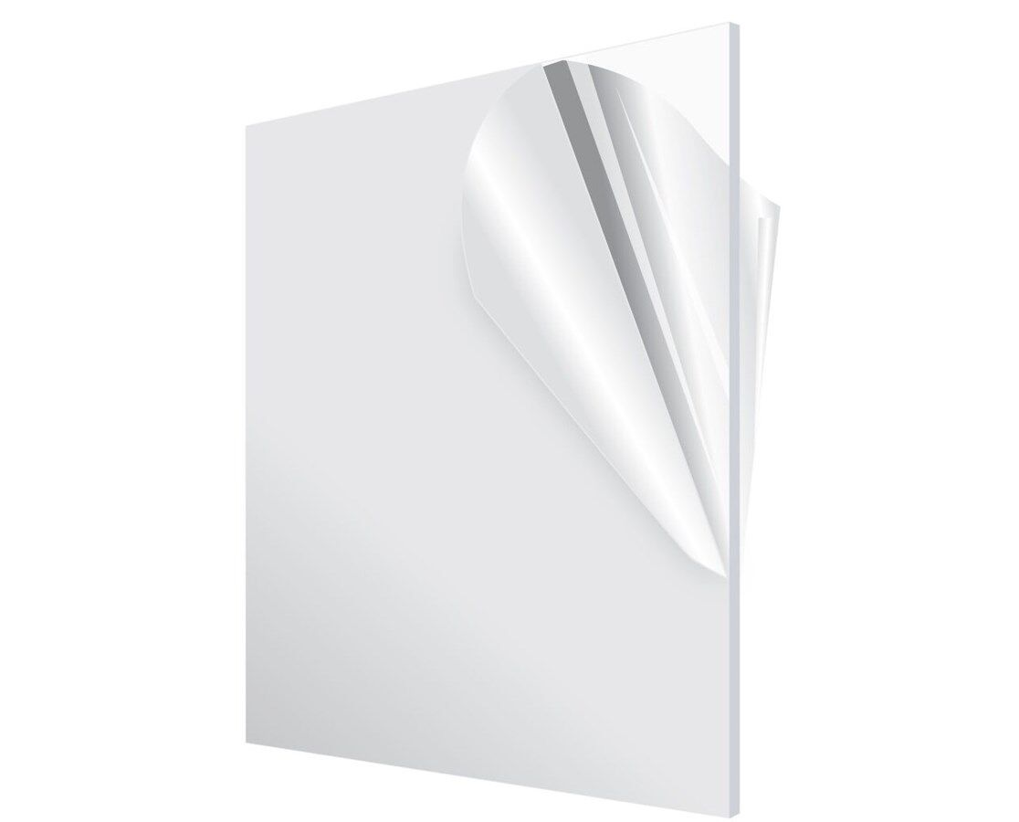 "Купить Acrylic Sheet - Acrylic Plexiglass Plastic Sheet 0.125"" - 1/8 Thick - You Pick The Size Clear"