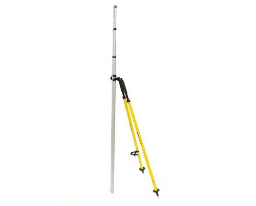 AdirPro Light Weight Aluminum Surveying Leveling Rod Bipod