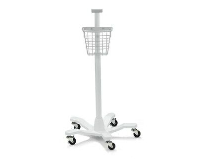 Welch Allyn 4700-60 Mobile Stand W Basket For Spot Lxi Vital Connex Sign Monitor