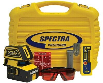 Spectra Precision Lt52r With Hr220 Laser Receiver And Clamp