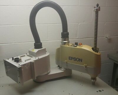 Epson Seiko E2s451sm 4 Axis Scara Robot E2s451 E2 Multi-mount Robots 2003 Side