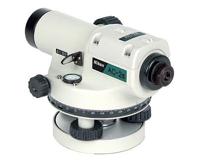 Nikon Ac-2s Automatic Optical Transit 360 Degree Circle Survey Auto Level